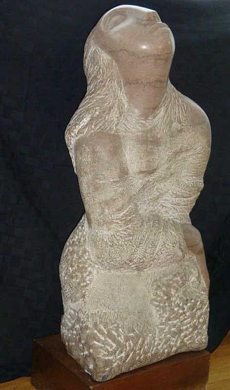 DE CREEFT, Jose. Whitney-Exhibited 1954 Marble
