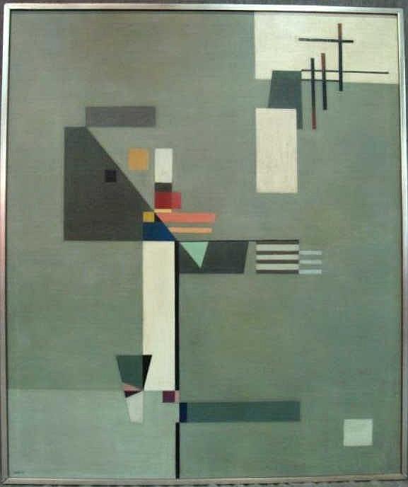 XCERON, Jean. 1941 O/C  (1890-1967)