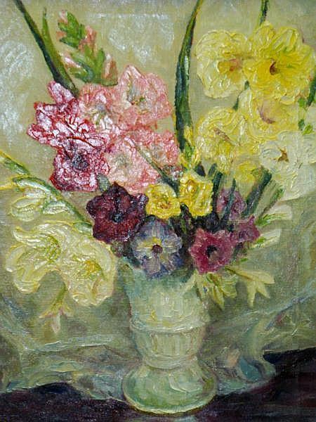 ALBERS Jr, Anton P.  c.1940 Floral Still Life