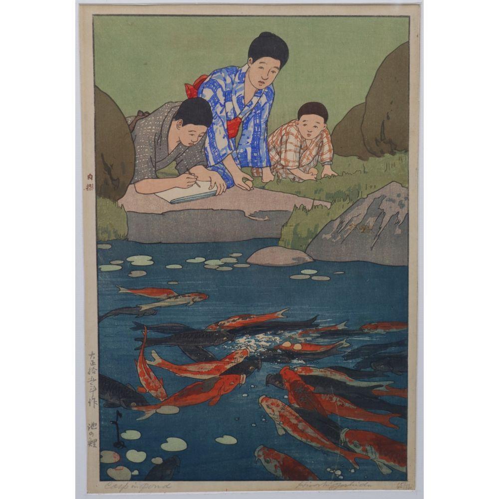 HIROSHI YOSHIDA (Japanese, 1876-1950).