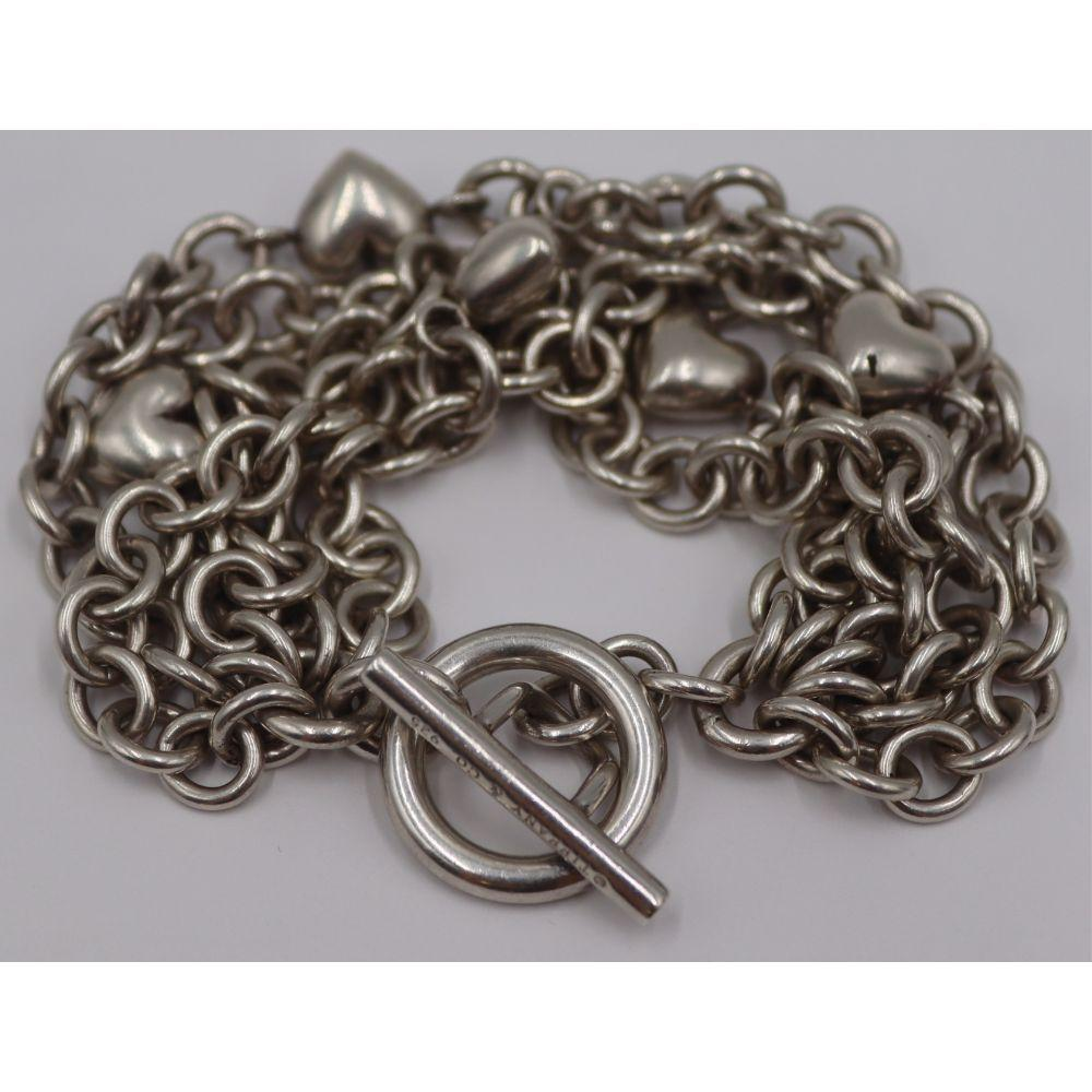 JEWELRY. Tiffany & Co. Sterling Bracelet.