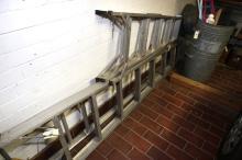 Four Builders Ladders