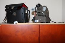 Polaroid camera & slide viewer
