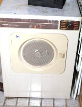 Hoover dryer in working condition
