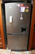 Samsun stainless steel fridge/freezer with cold water unit