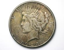 1923 US Liberty silver dollar