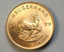 1979 Krugerrand gold coin