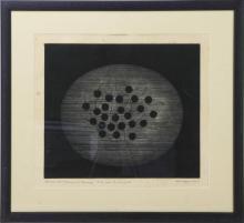 Yozo HAMAGUCHI (1909-2000). Composition aux cerise…