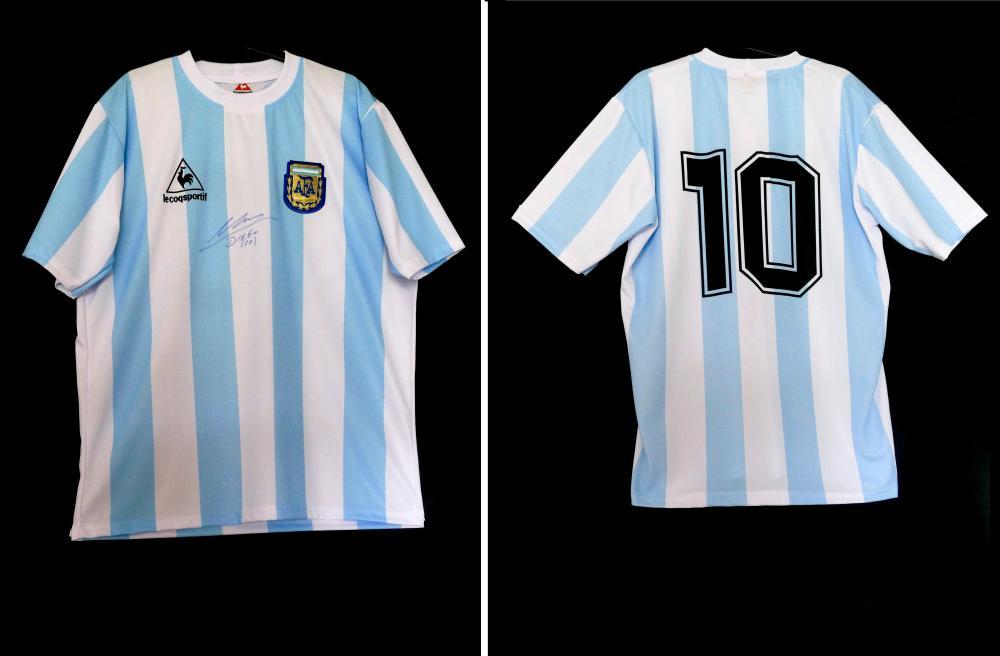 Maillot argentine DIEGO MARADONA 1986