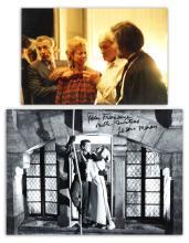 Anonyme (XXe siècle) Lots de deux photographies - Jean Marais dans un film