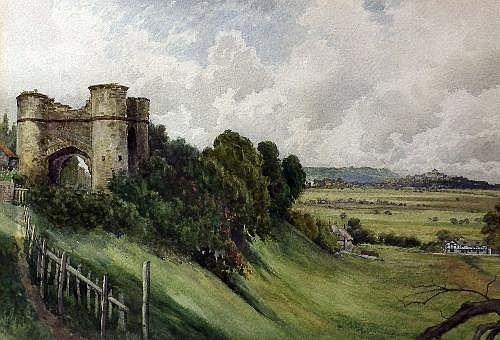 Arthur William Head (1861-1930) - Watercolour -