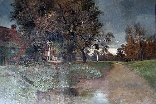 Arthur William Head (1861-1930) - Oil painting -
