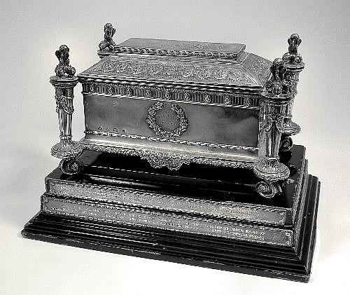The Barnehurst Casket - An Edward VII silver