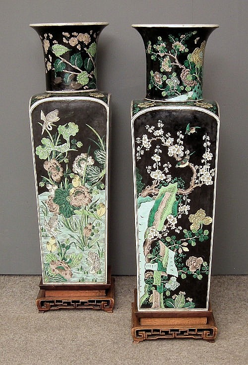 A pair Chinese porcelain