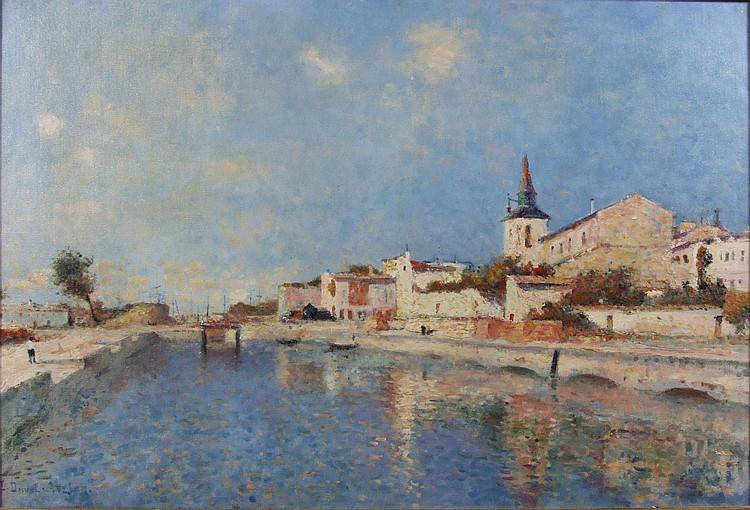 Leon Duval-Gozlan (1853-1941) - Oil painting -