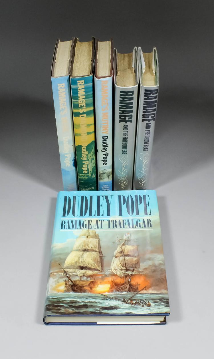 dudley pope books