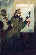 Rene Bull (circa 1870-1942) - Watercolour -