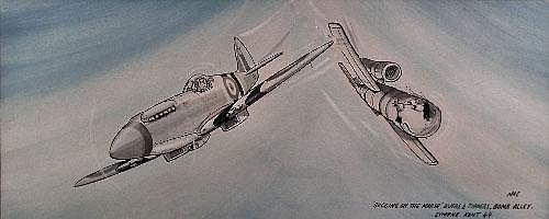 Mac (Stan McMurty born 1936) - Watercolour -