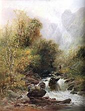 W. Widgery (1822-1893) - Oil painting - Country