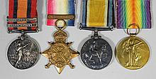 A group of four Victorian and George V Boer and