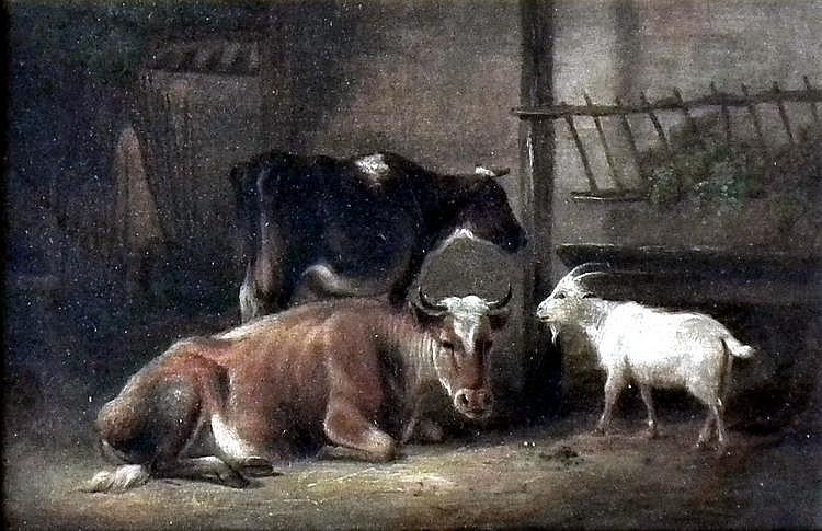 After Heinrich Burkel (1802-1869) - Oil painting -