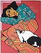 Gernot Kissel (1939-2008) - Artists proof coloured, Gernot Kissel, Click for value