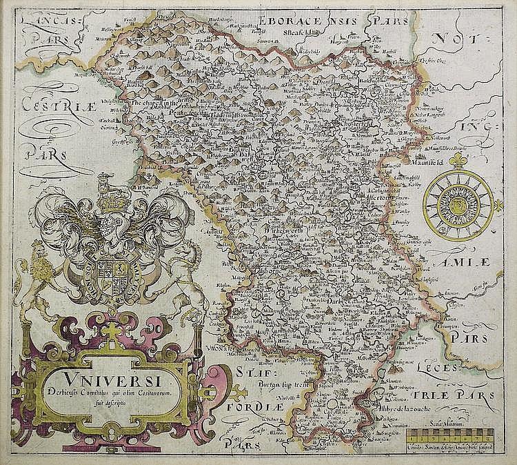 William Camden (1551-1623) - Coloured engraving -