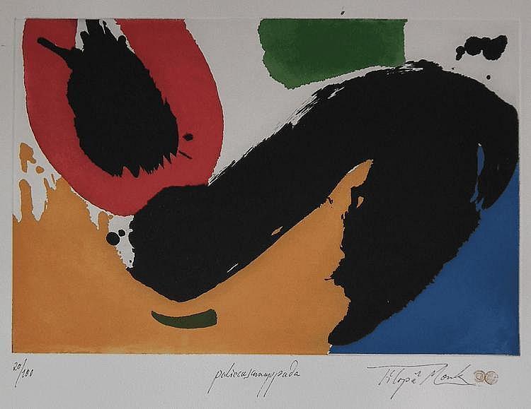Tilopa Monk (born 1949) - Three Artists proof