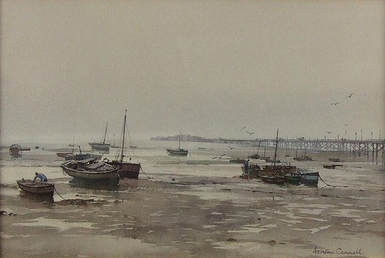 Ashton Cannell (1927-1994) - Watercolour -