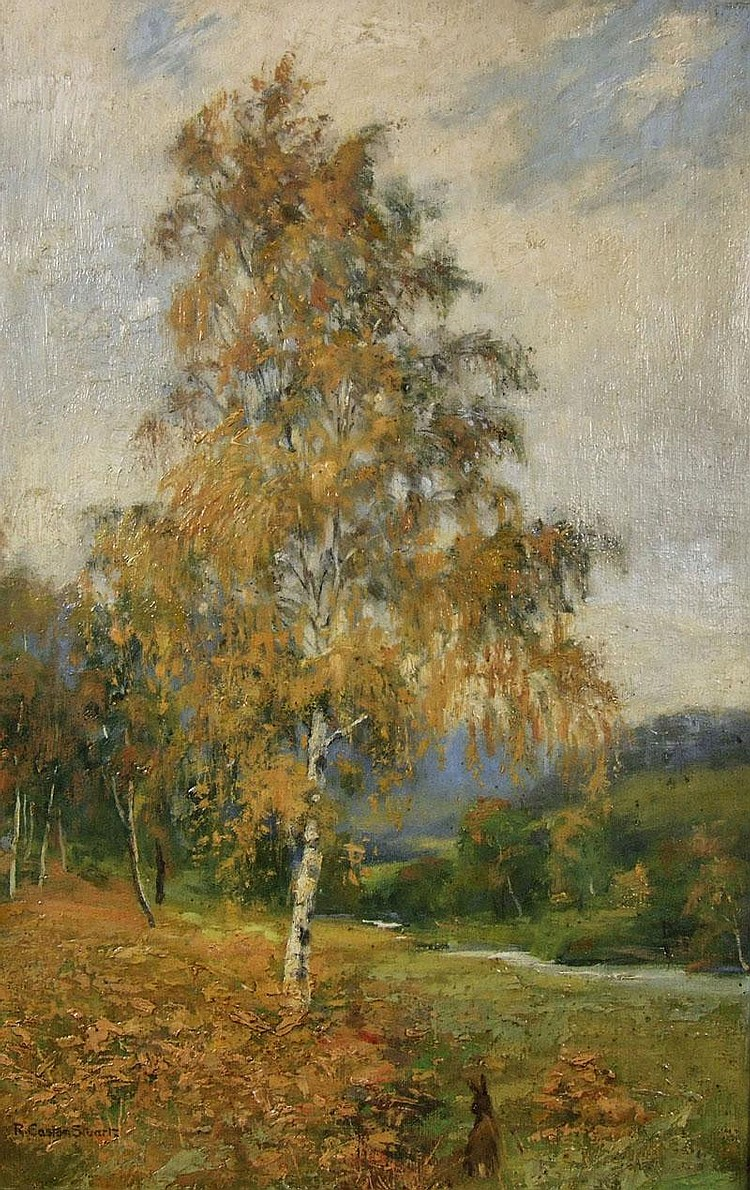 R. Easton Stuart (fl. 1890-1940) - Oil painting -