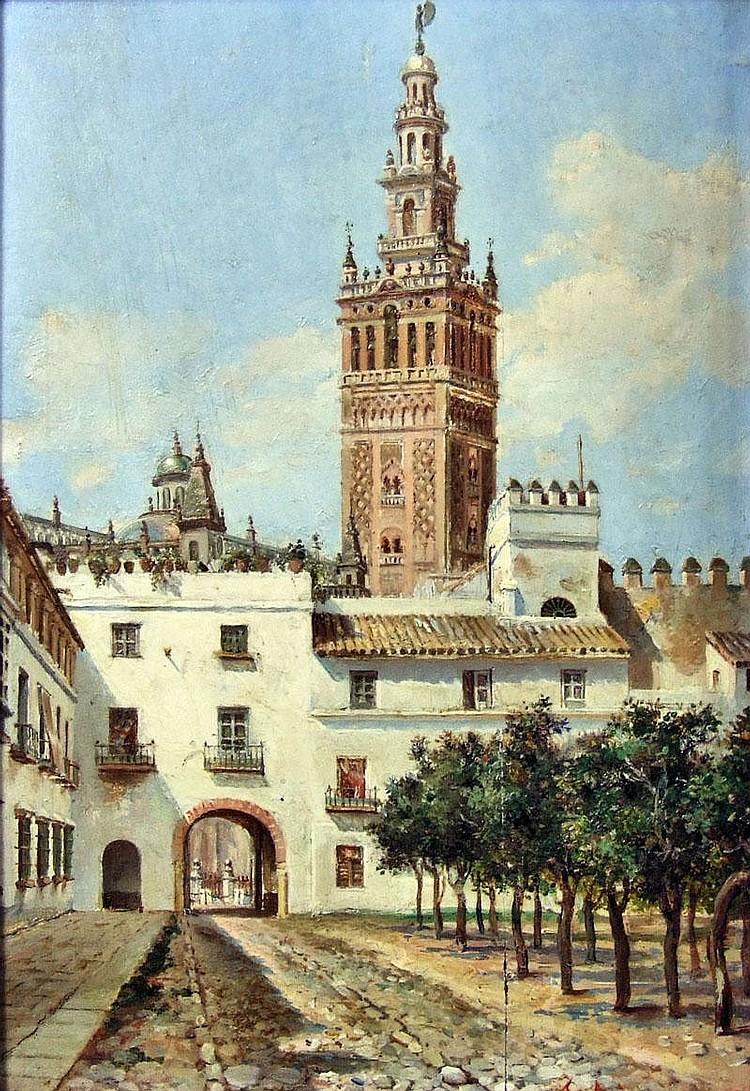 Francisco Arias (1912-1977 - Spanish) - Oil