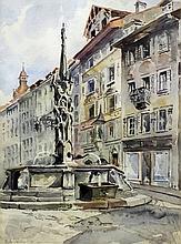 Charles John Watson (1846-1927) - Watercolour - Co