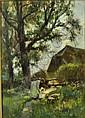 Adam E. Proctor (1864-1913) - Oil painting -, Adam E. Proctor, Click for value