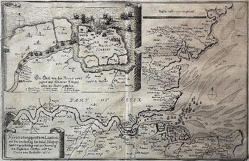 Matthaus Merian (1621-1687) - Engraving -