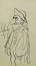 ***Ronald Searle (1920-2011) - Pencil Drawing -