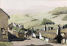 """***Colin Verity (1924-2011) - Watercolour - """"Yorkshire scene"""", 11.25ins x 16.25ins, signed, in wood frame and glazed"""