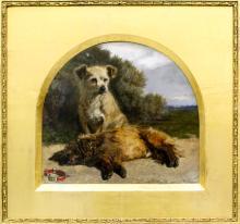 William Davis (1812-1873) - Oil painting -