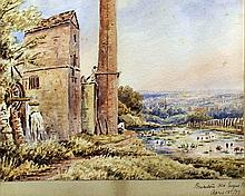 19th Century School - A watercolour of the Old