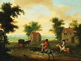PETER TILLEMANS (1684-1734) OIL PAINTINGS ON