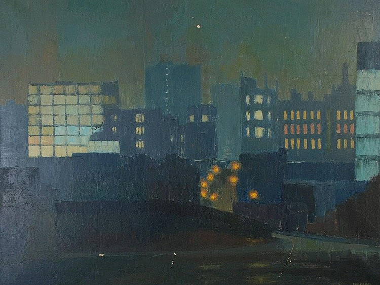IAN McDONALD GRANT (1904-1993) OIL ON CANVAS