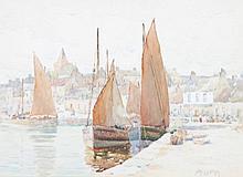 JOHN ERNEST AITKEN (1881-1957) WATERCOLOUR DRAWIN