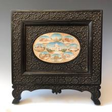 A BEAUTIFUL INDIAN ANTIQUE PAINTING IN FRAME