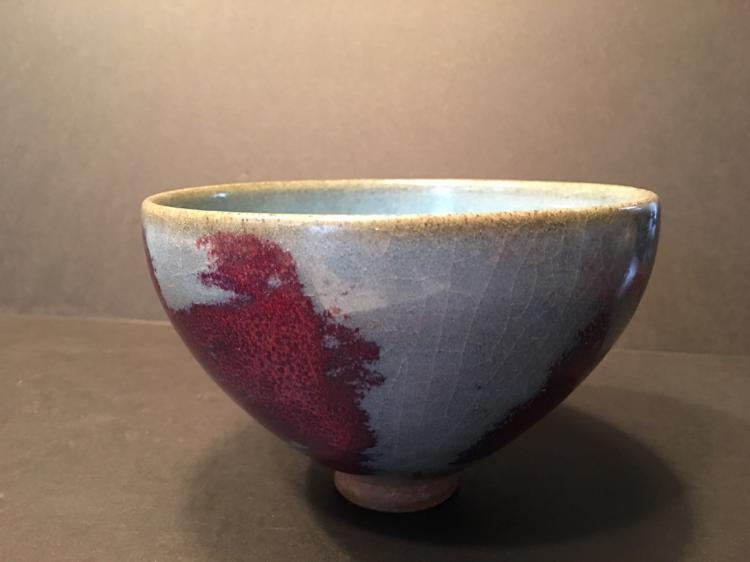 ANTIQUE Chinese Jun Ware Bowl, 6