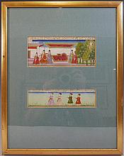 ANTIQUE INDIAN MUGHAL PAINTING - 18TH CENTURY