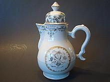 ANTIQUE Chinese Griselle Teapot,  mid 18th C