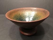 ANTIQUE Chinese SONG 'Hare's Fur' Stone Ware Bowl, SONG Dynasty