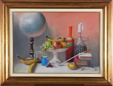 GROSSI PROFERIO (1923 - 2000) Still life.