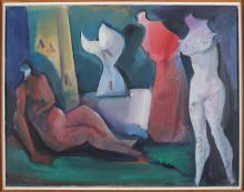 DI PRATA OSCAR (1910 - 2006) Untitled.