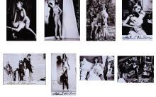 NEWTON HELMUT (1920 - 2004) Lot consists of 8 photographs.