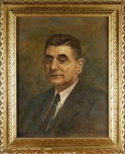 PASINI EMILIO (1872 - 1953) Portrait of man.